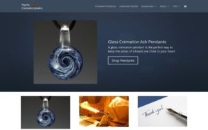 Psyche Cremation Jewelry - Screen Shot